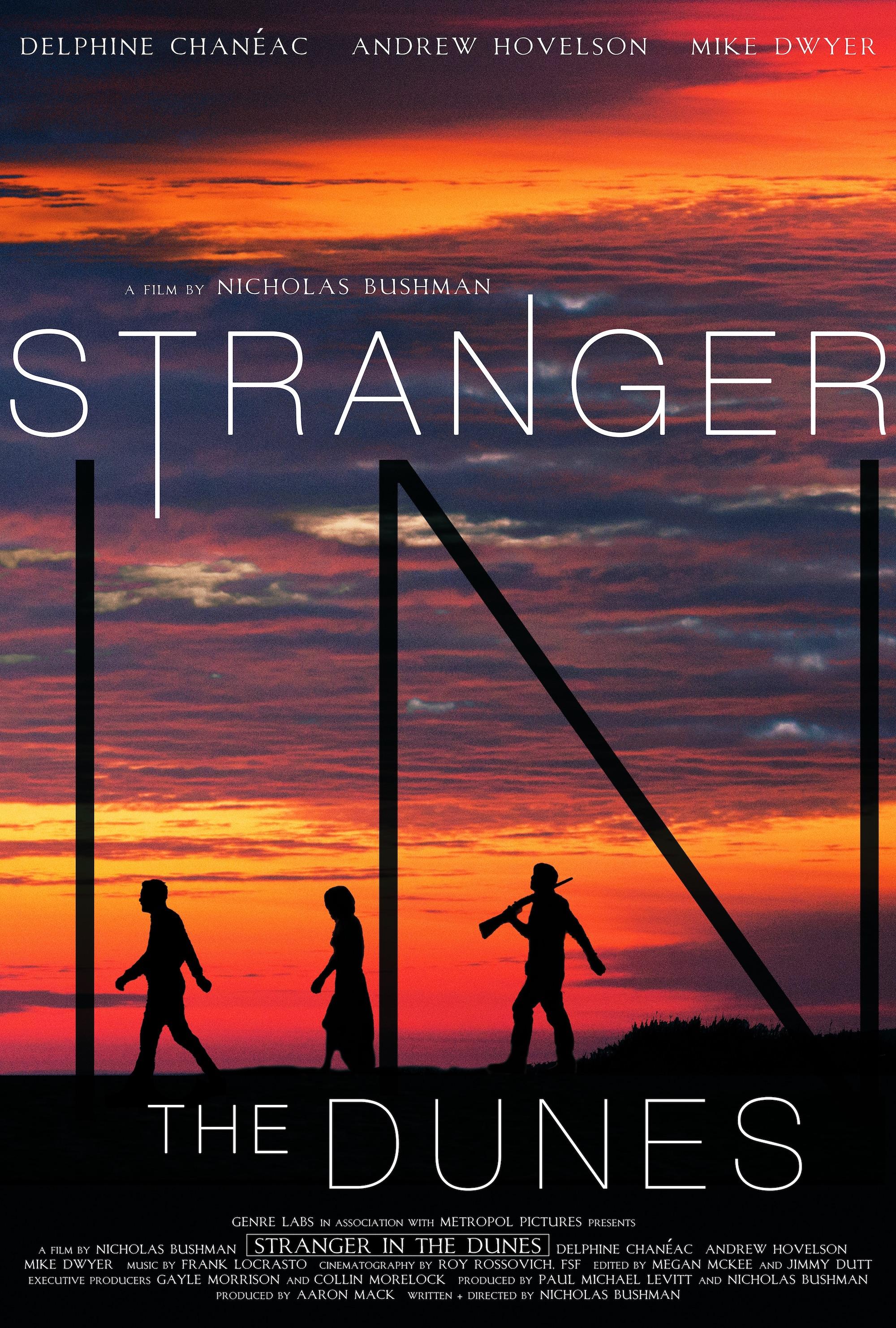 Stranger in the Dunes kapak