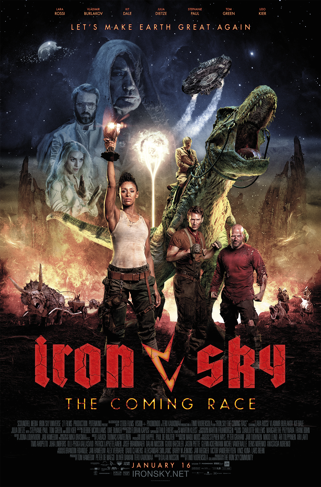 Iron Sky: The Coming Race kapak