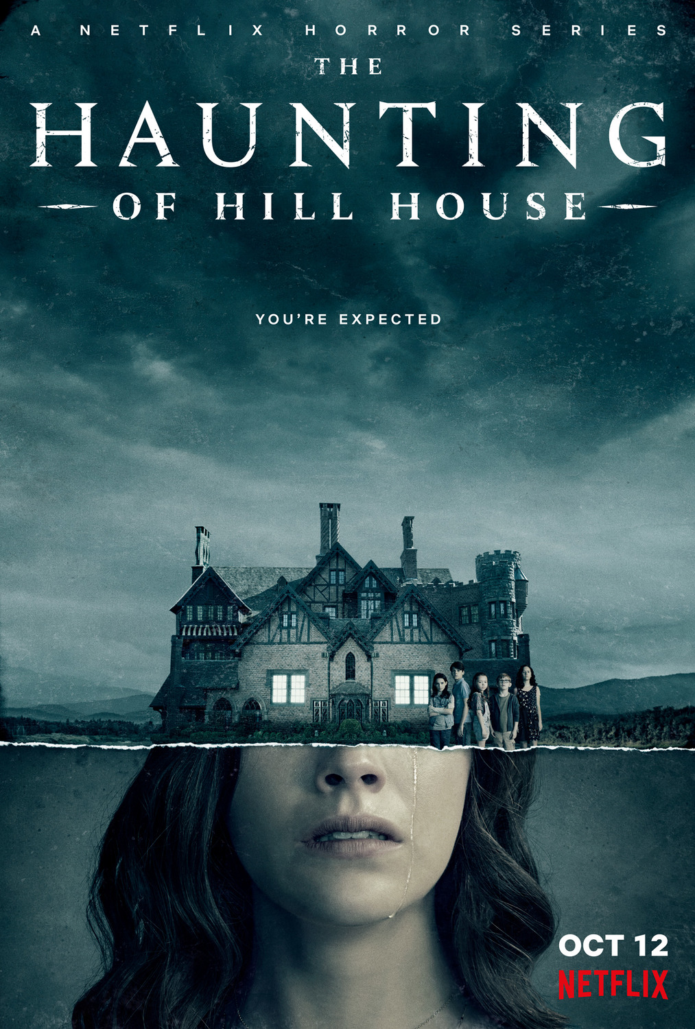 The Haunting of Hill House kapak