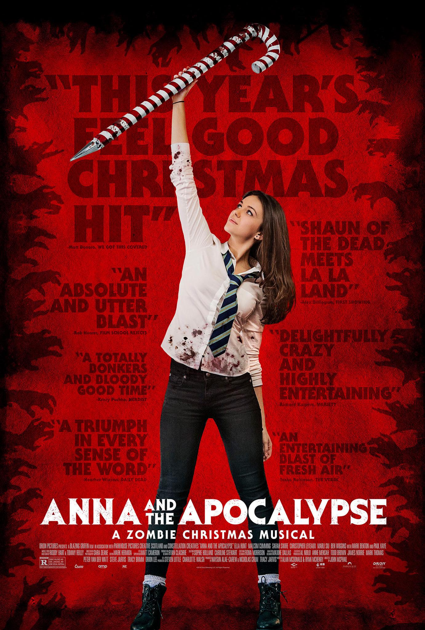 Anna and the Apocalypse kapak