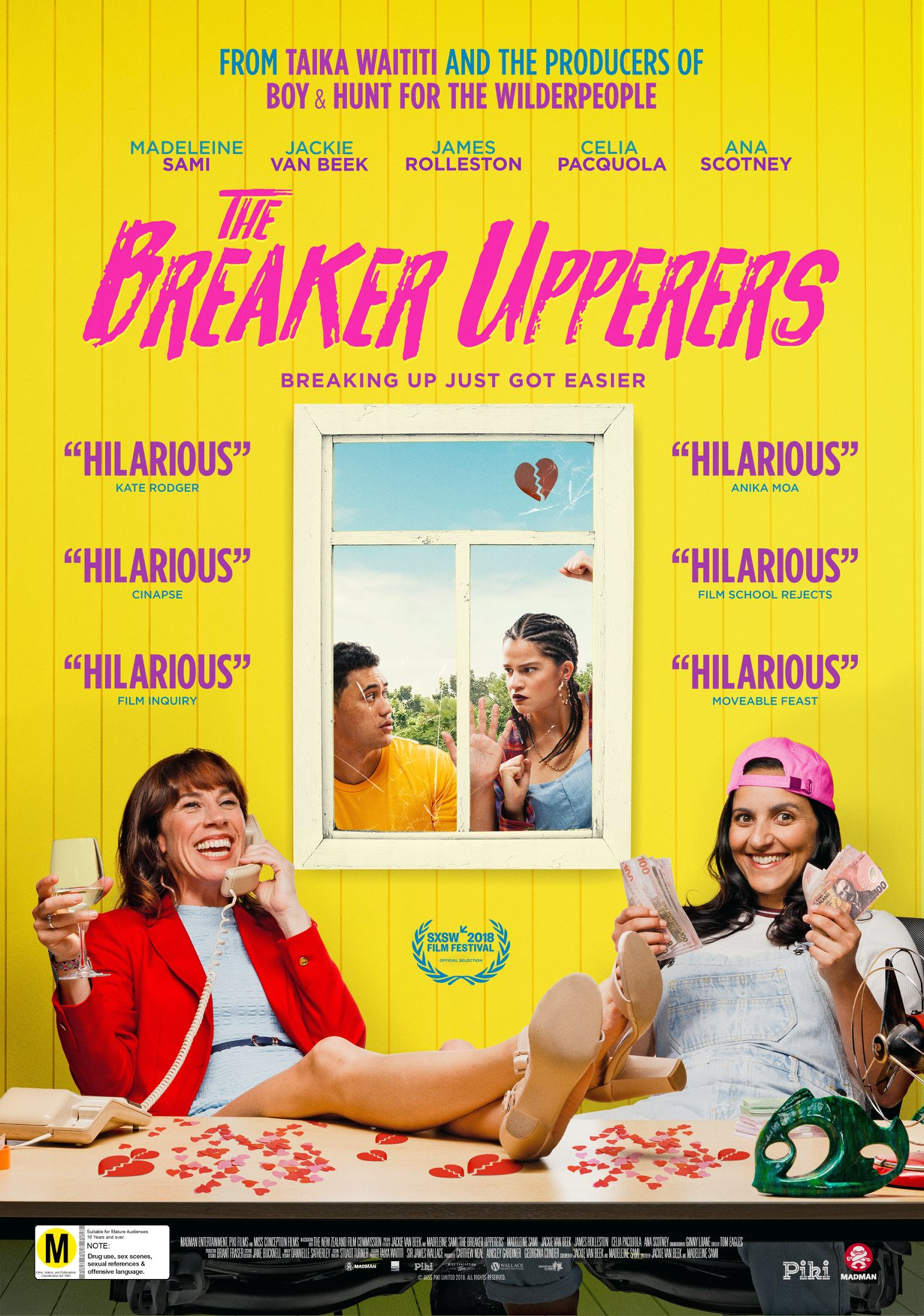 The Breaker Upperers kapak