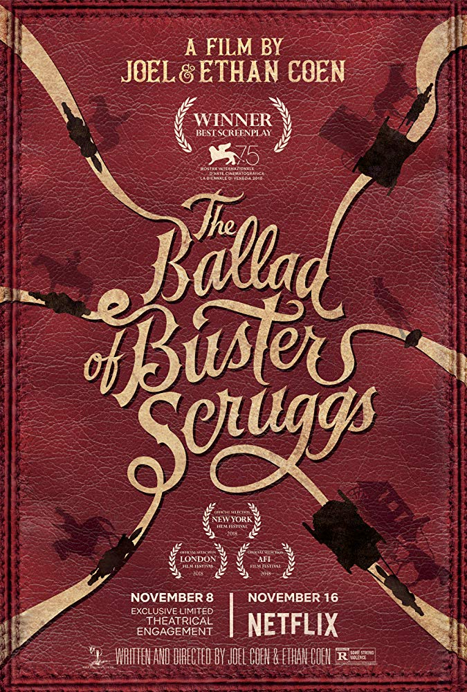 The Ballad of Buster Scruggs kapak