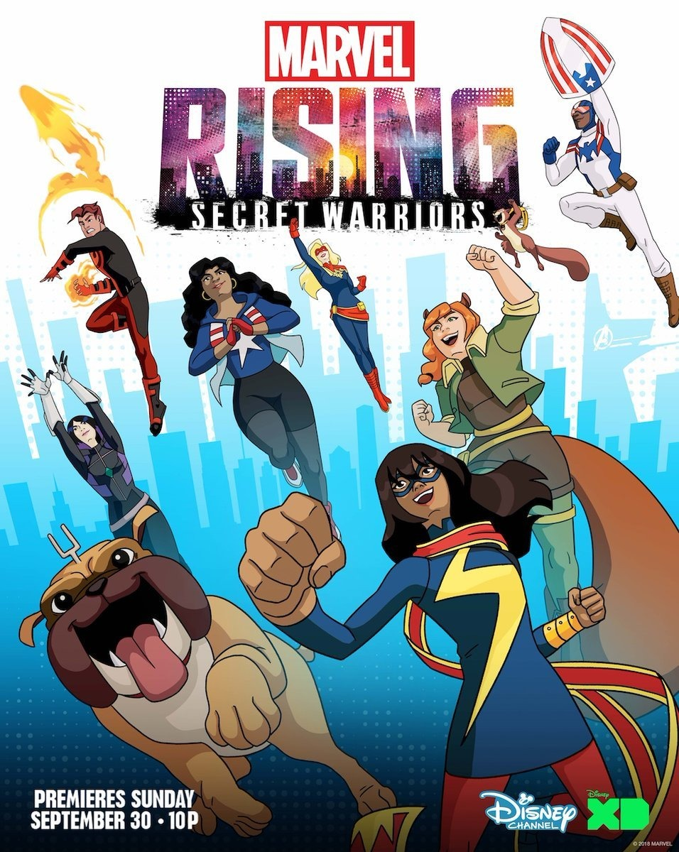 Marvel Rising: Secret Warriors kapak