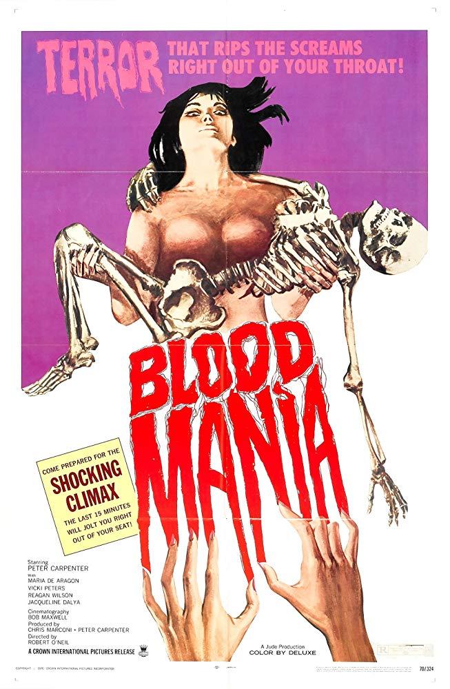 Blood Mania kapak