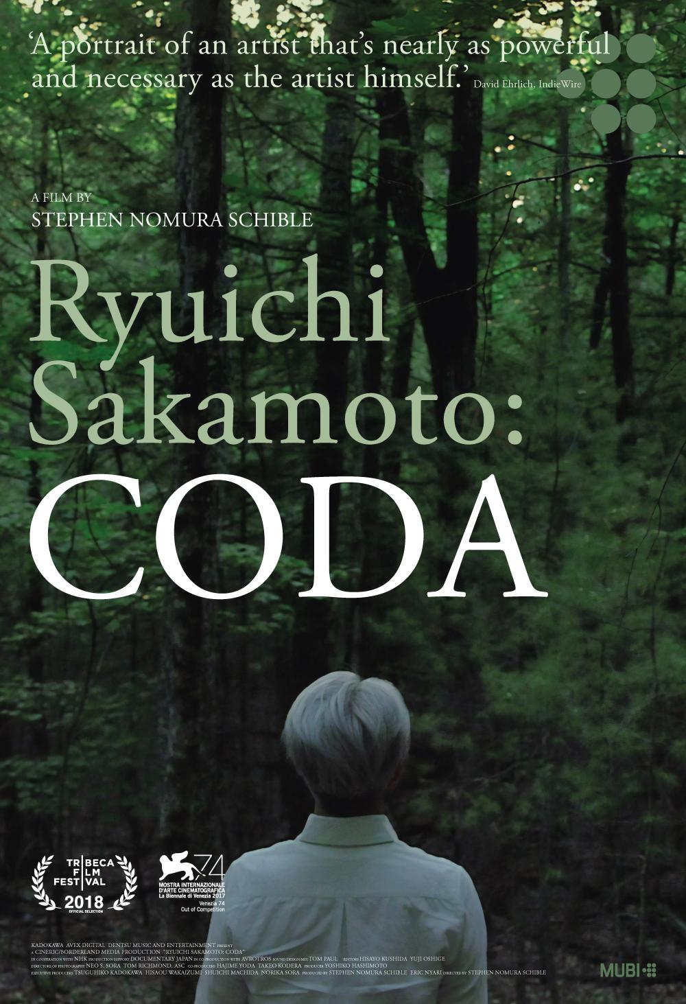 Ryuichi Sakamoto: Coda kapak