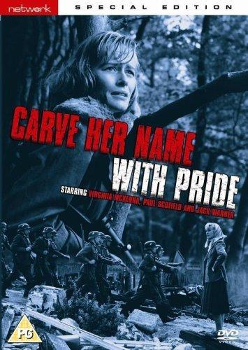 Carve Her Name with Pride kapak