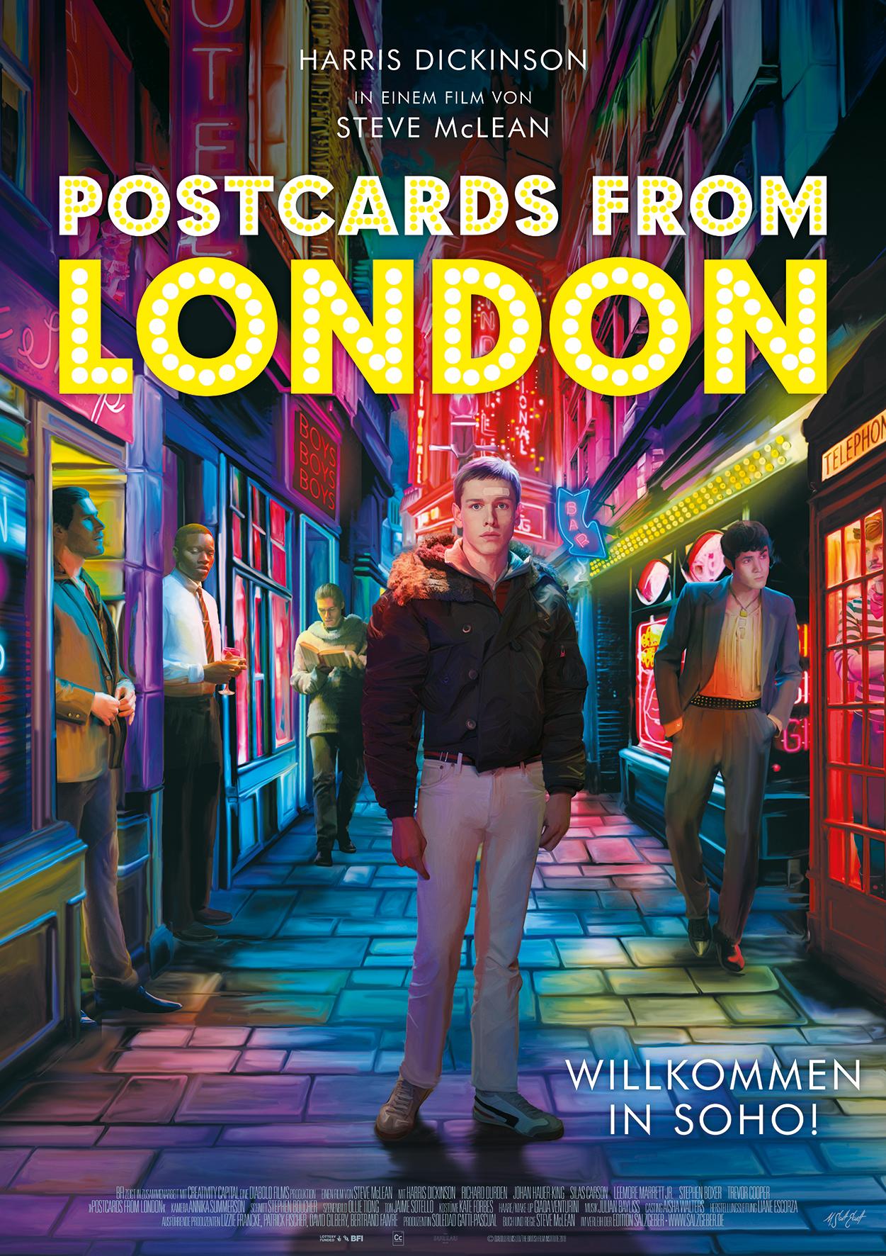 Postcards from London kapak