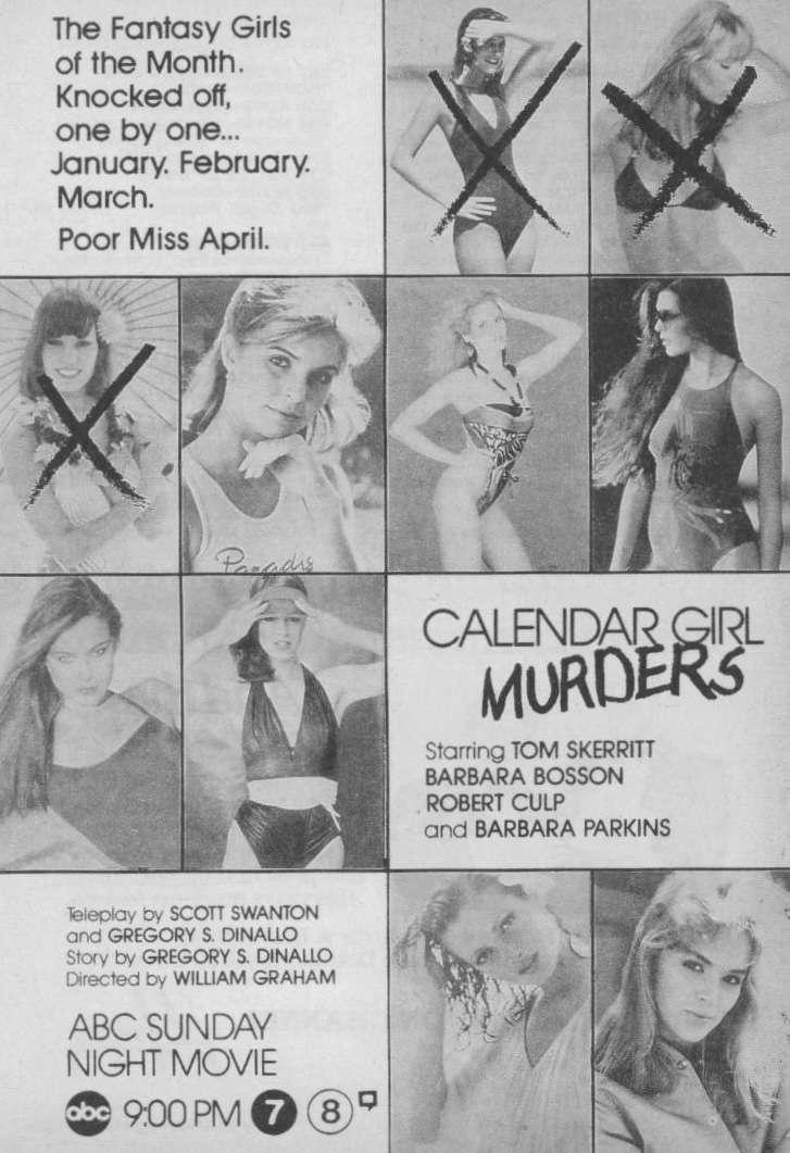 Calendar Girl Murders kapak