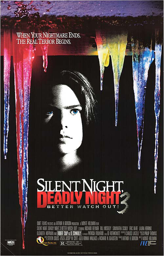Silent Night, Deadly Night 3: Better Watch Out! kapak