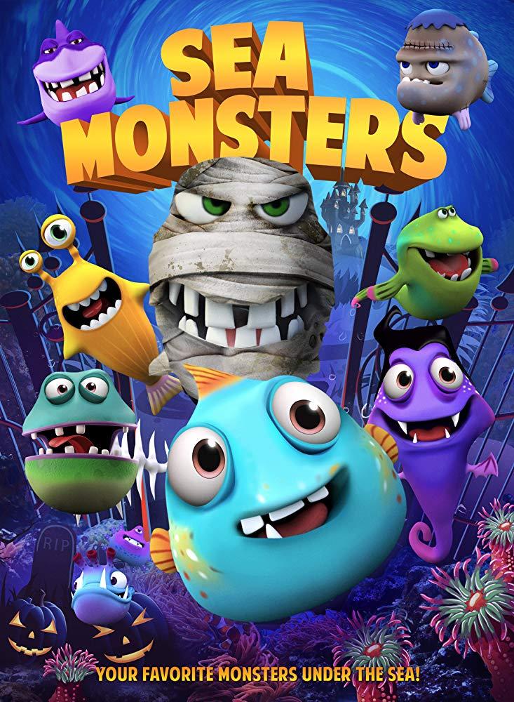 Sea Monsters kapak
