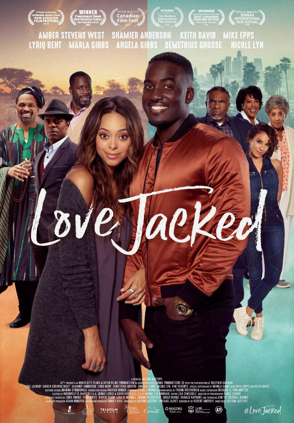Love Jacked kapak