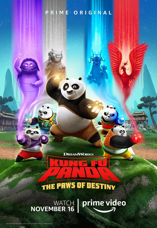 Kung Fu Panda: The Paws of Destiny kapak