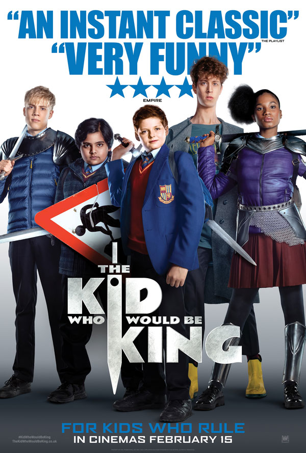The Kid Who Would Be King kapak