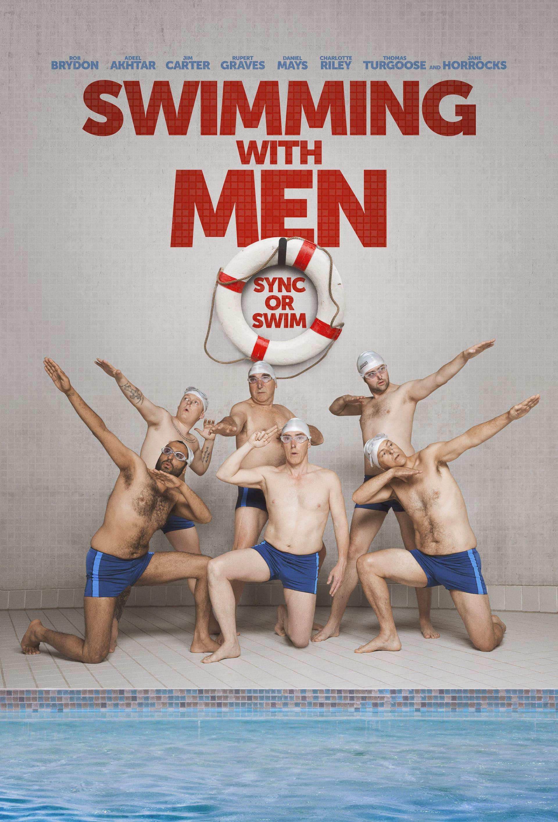 Swimming with Men kapak