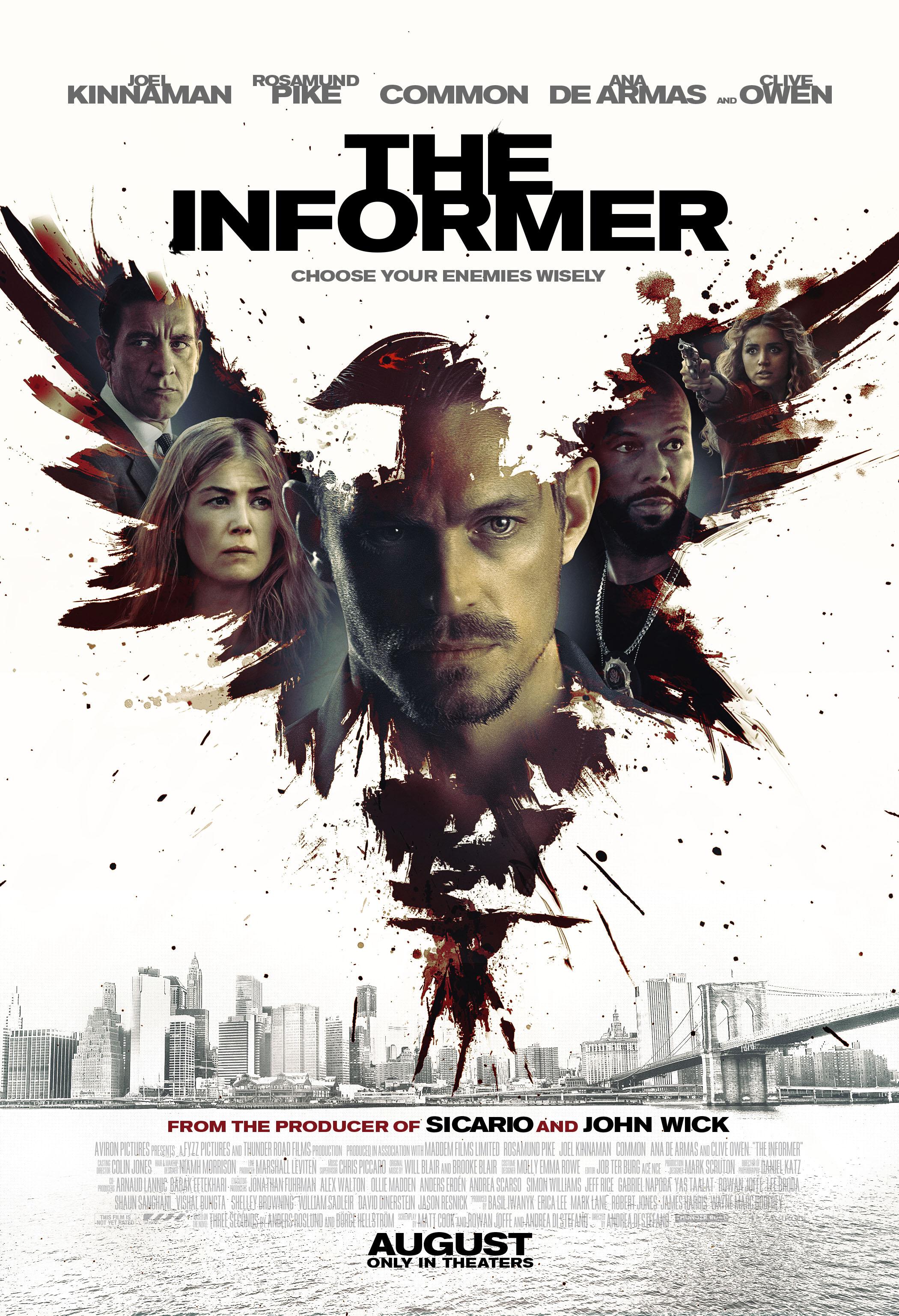 The Informer kapak