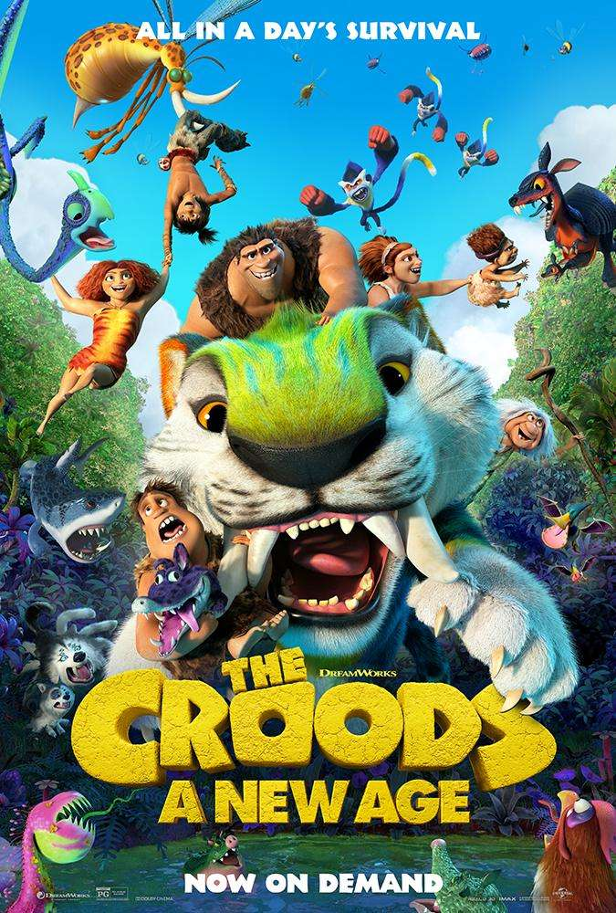 The Croods: A New Age kapak