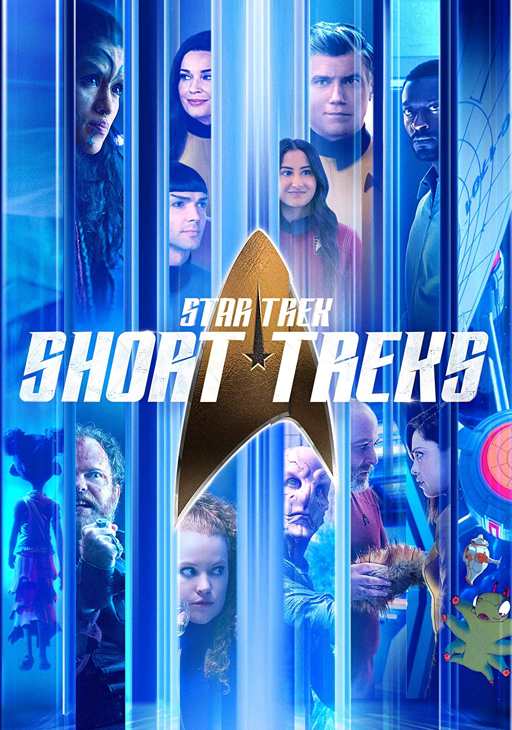 Star Trek: Short Treks kapak