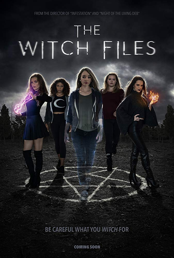 The Witch Files kapak