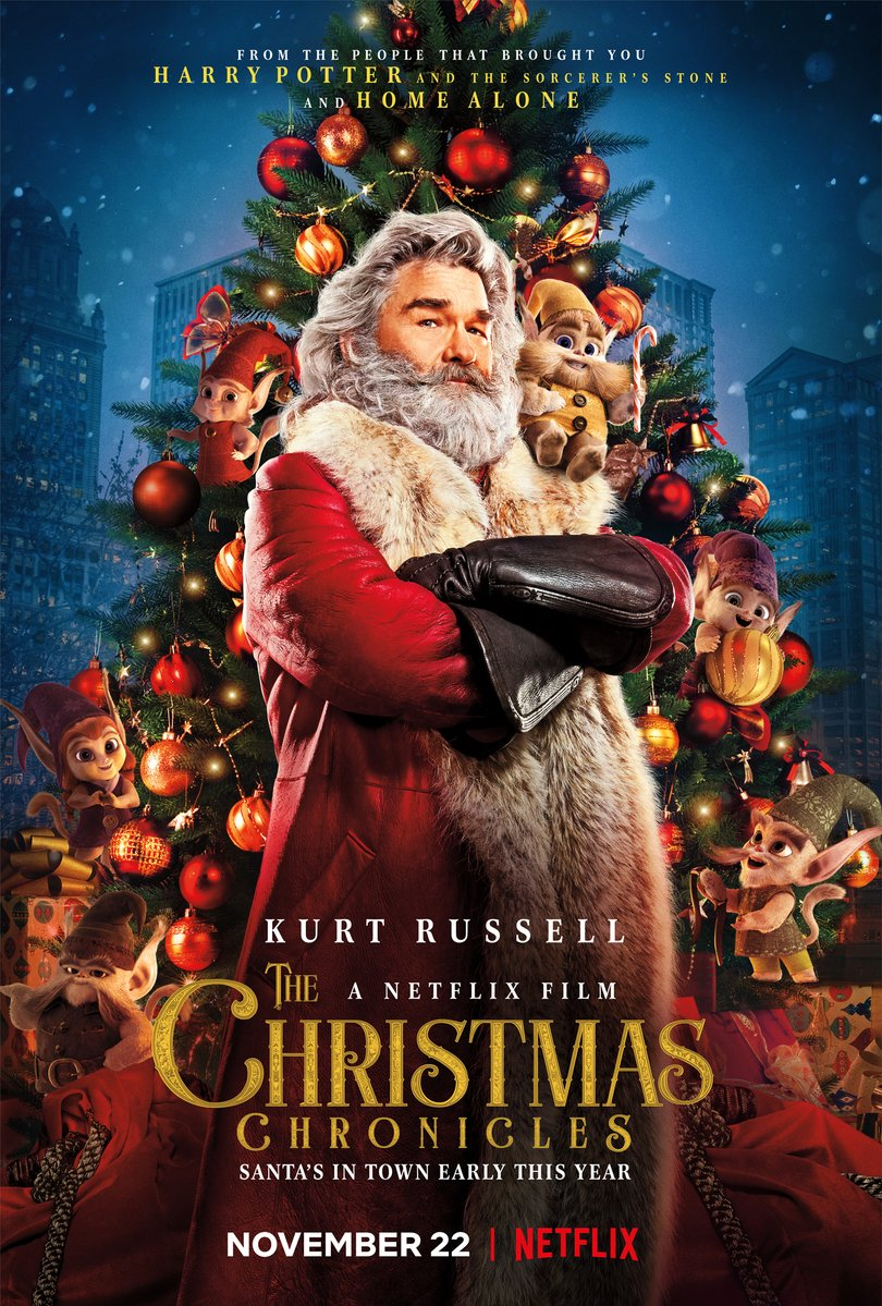 The Christmas Chronicles kapak