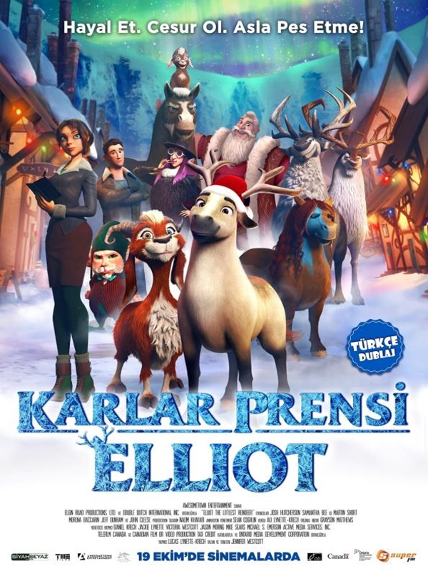 Elliot the Littlest Reindeer kapak