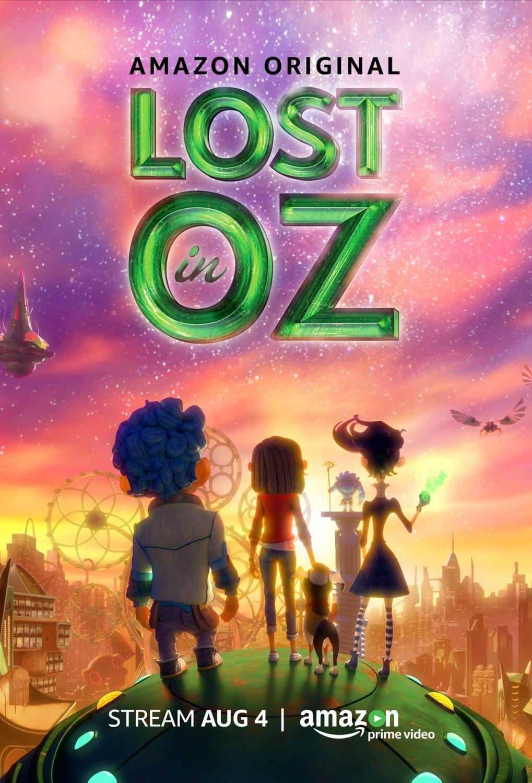 Lost in Oz kapak