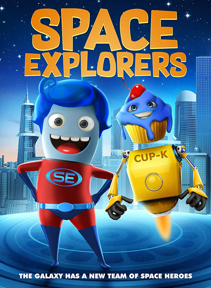 Space Explorers kapak