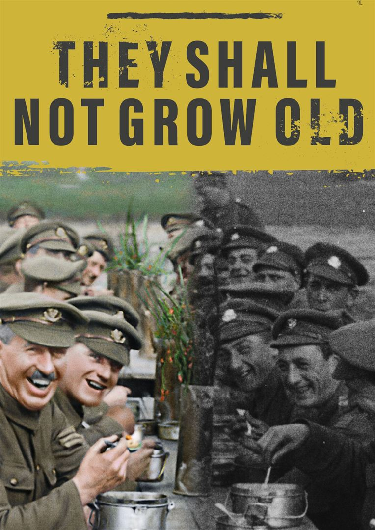 They Shall Not Grow Old kapak