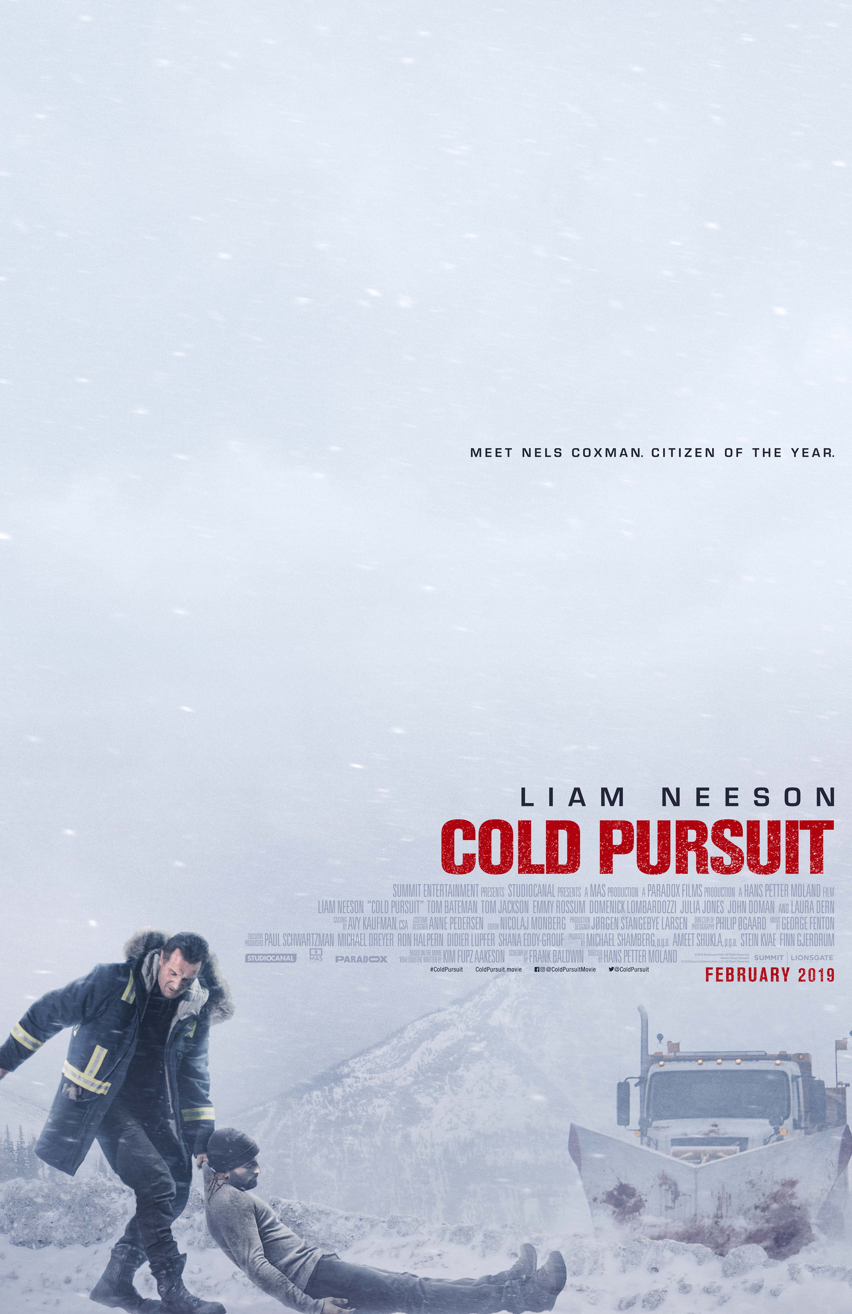Cold Pursuit kapak
