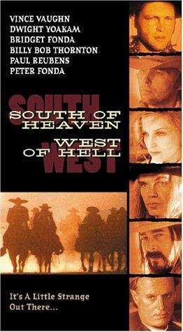 South of Heaven, West of Hell kapak