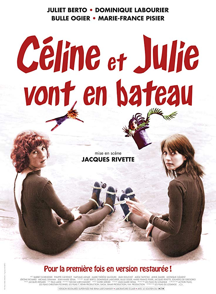 Celine and Julie Go Boating kapak