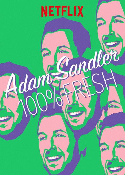 Adam Sandler: 100% Fresh kapak