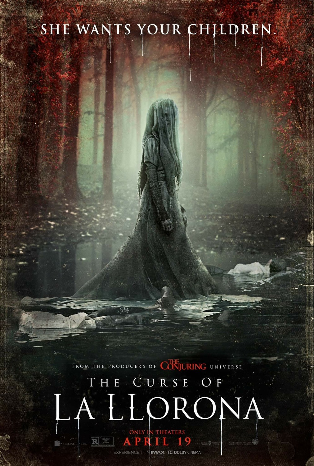 The Curse of La Llorona kapak