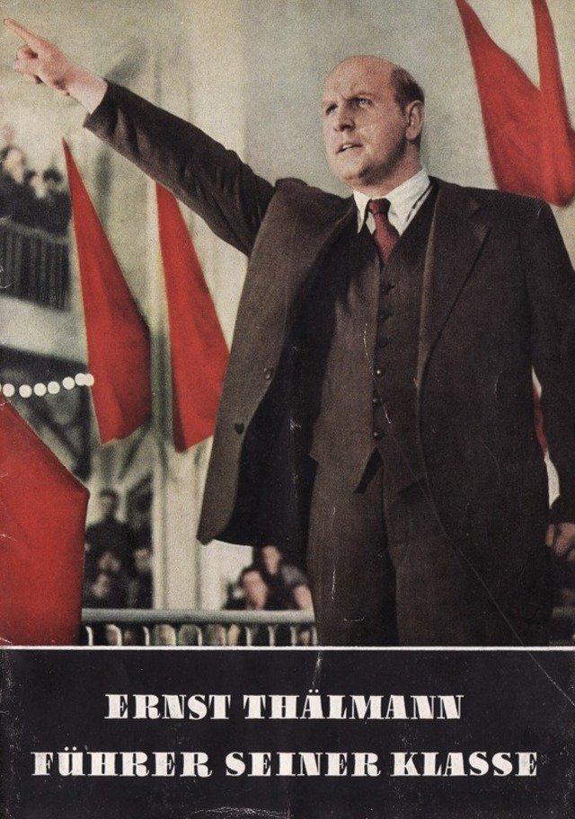 Ernst Thälmann - Führer seiner Klasse kapak