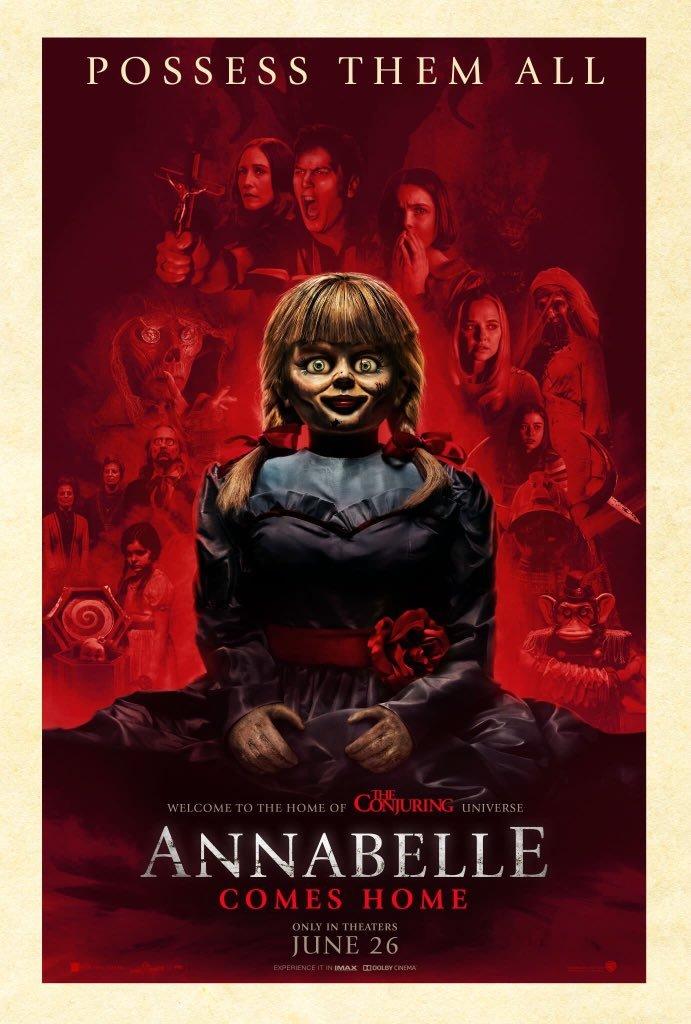 Annabelle Comes Home kapak