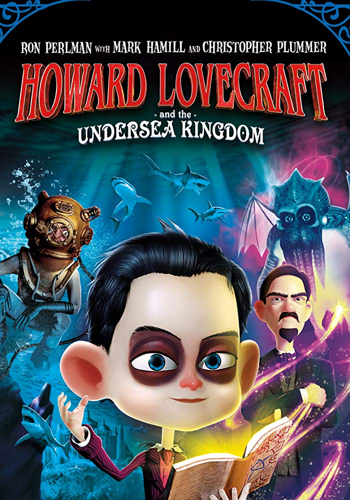 Howard Lovecraft & the Undersea Kingdom kapak