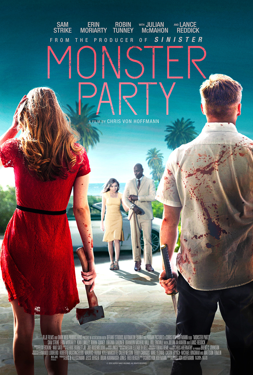 Monster Party kapak