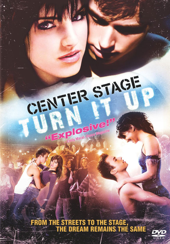 Center Stage: Turn It Up kapak