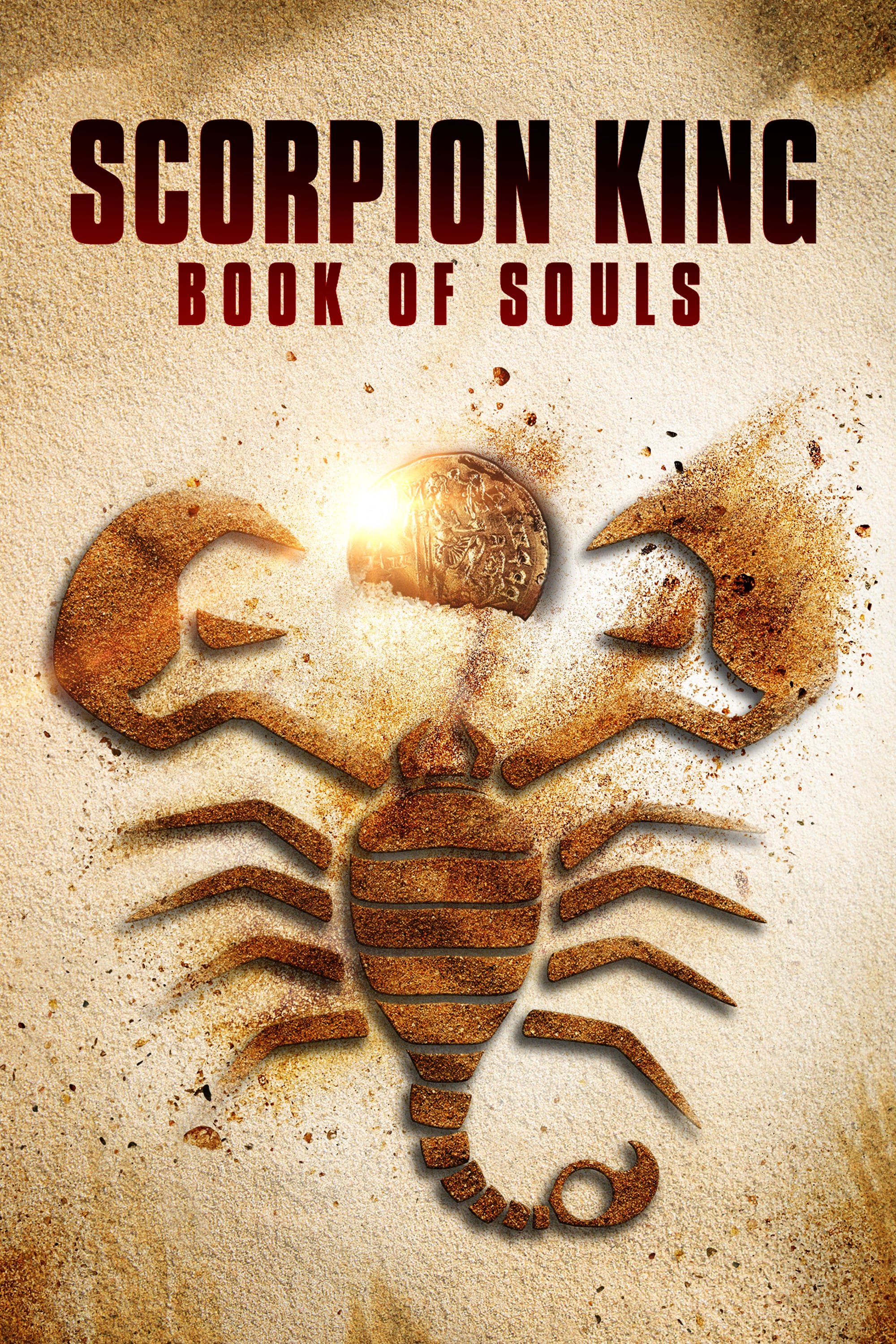 The Scorpion King: Book of Souls kapak