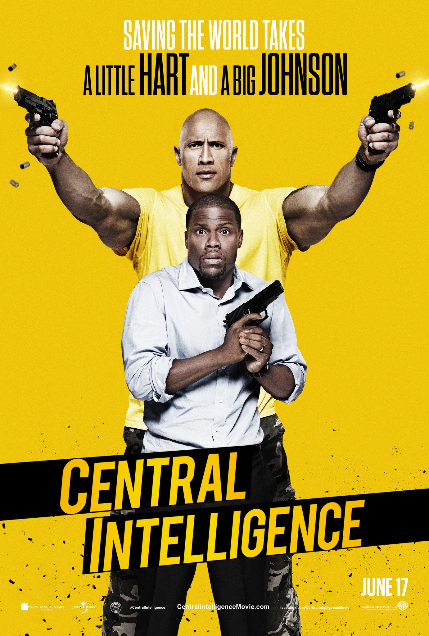 Central Intelligence kapak