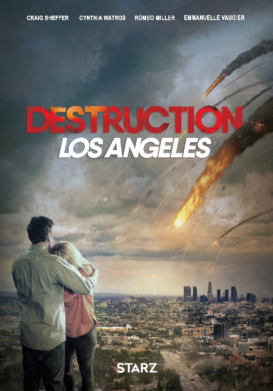 Destruction Los Angeles kapak