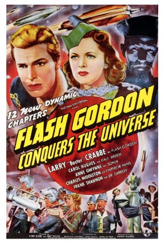 Flash Gordon Conquers the Universe kapak