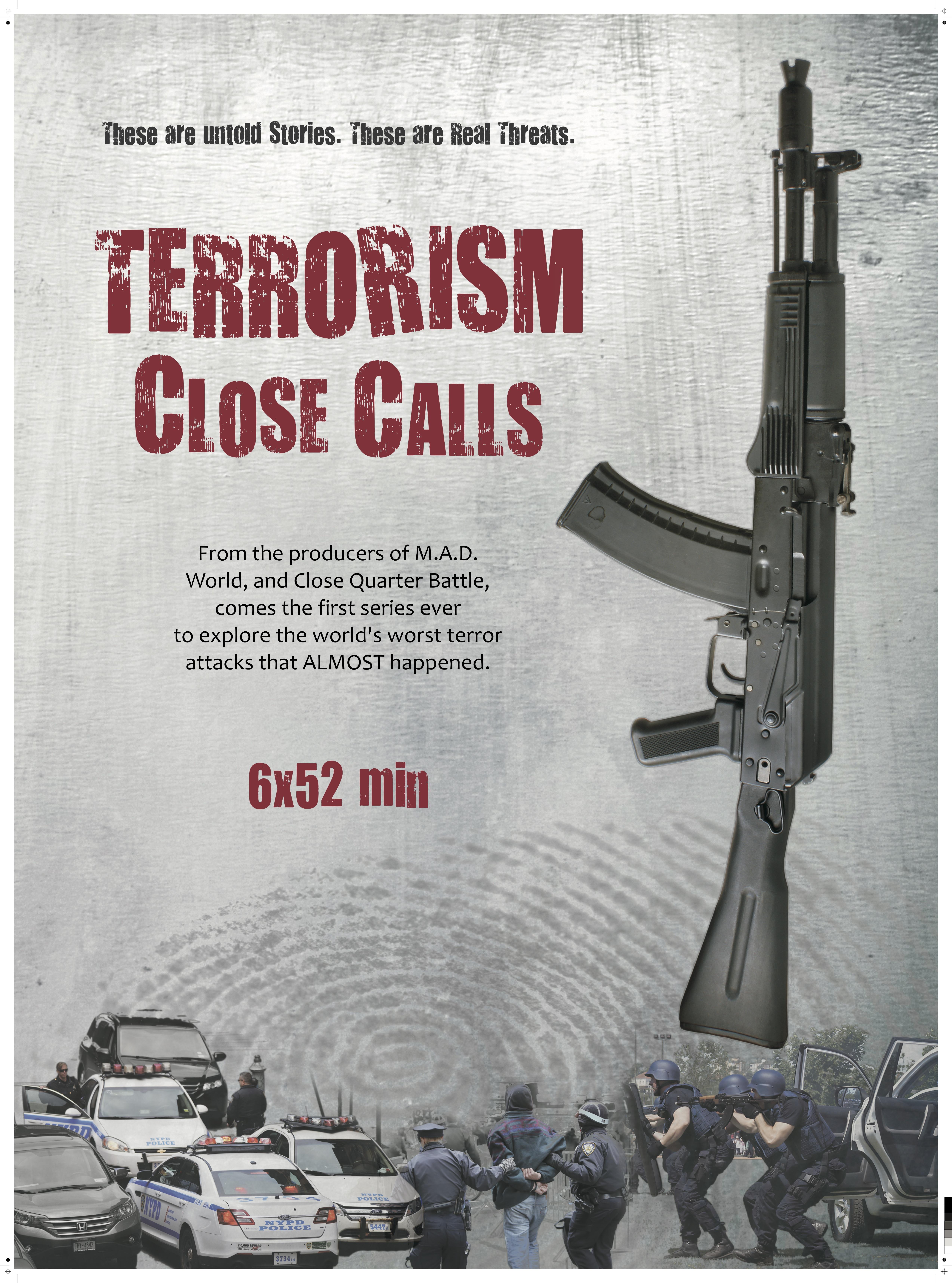 Terrorism Close Calls kapak