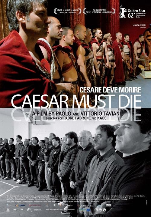 Caesar Must Die kapak