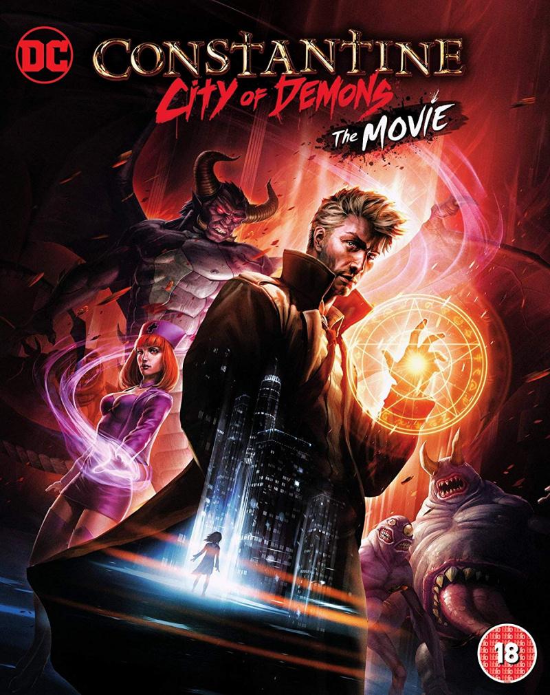 Constantine City of Demons: The Movie kapak