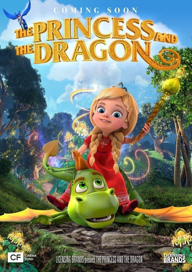 The Princess and the Dragon kapak