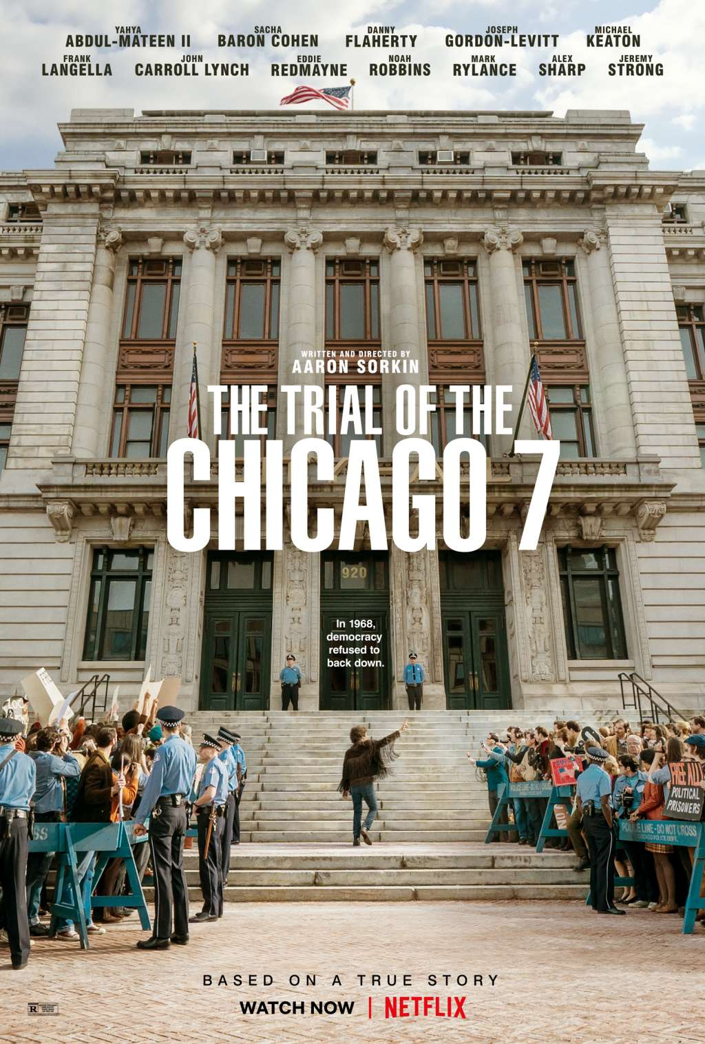 The Trial of the Chicago 7 kapak
