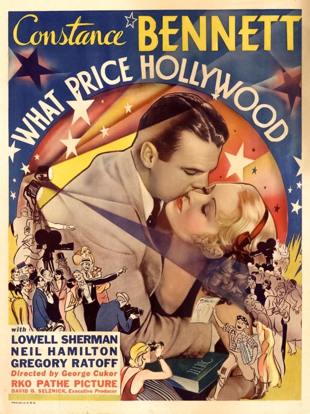 What Price Hollywood? kapak