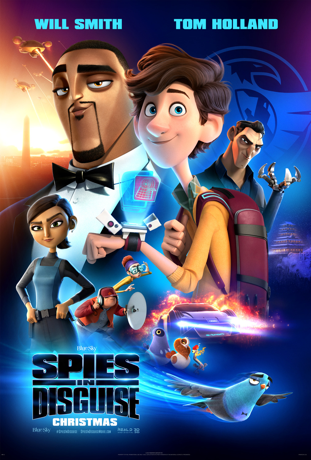 Spies in Disguise kapak