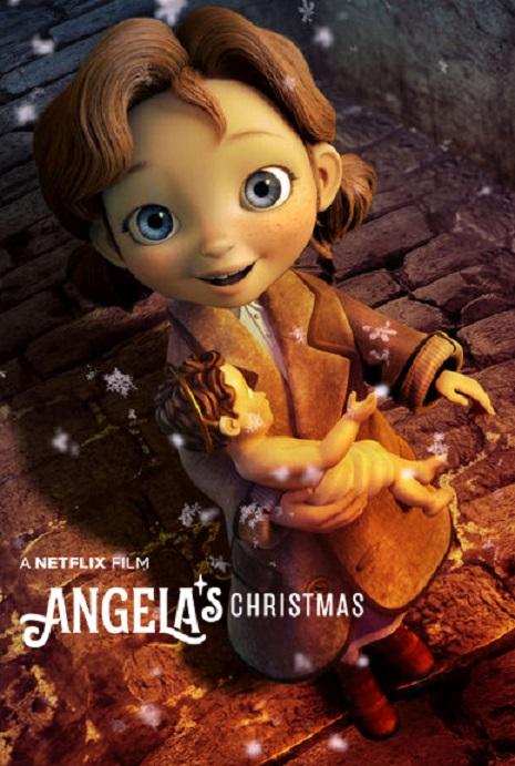 Angela's Christmas kapak