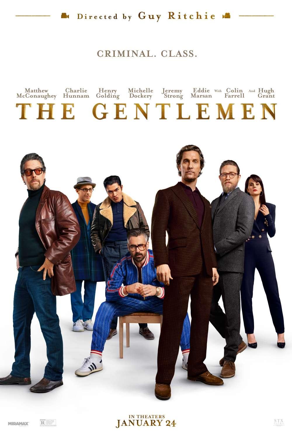 The Gentlemen kapak